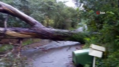 yardim cagrisi -  - Avustralya'yı şiddetli rüzgar ve sel vurdu