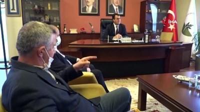 rekor - Rekortmen sporcudan başkan Dündar'a ziyaret