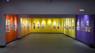 rekor -  Türkiye'nin en geniş katılımlı illüstratörler sergisi Ada Modern'de