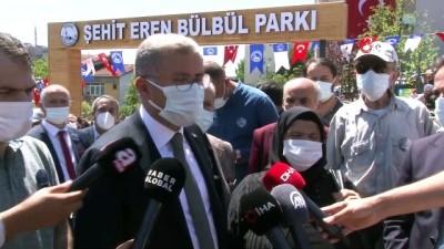 teroristler -  Üsküdar'da yeni açılan parka Şehit Eren Bülbülün adı verildi