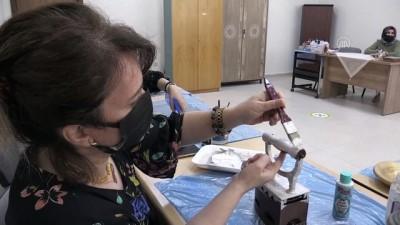 geri donusum - BAYBURT - Eski eşyalar kadınların elinde hatıralarını yaşatıyor