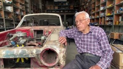 DÜZCE - Anadol' otomobiller 'Dede Suat'ın elinde hayat buluyor