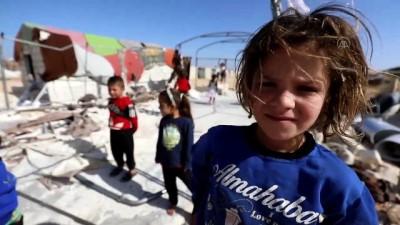 İdlibli öğrenciler, rejimin yıktığı okullarına yeniden kavuşmak istiyor (1)