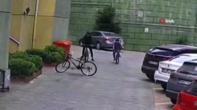 elektrikli bisiklet -  İstanbul'da ilginç bisiklet hırsızlığı: Eskisini bırakıp yenisini götürdü