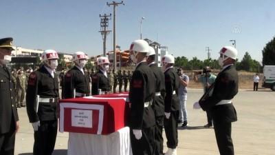 siyasi parti - MARDİN - Silah kazası sonucu şehit olan askerin naaşı memleketine uğurlandı