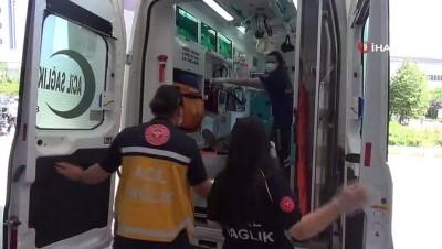 yasli adam -  Ot biçme makinesinden düşen yaşlı adam ağır yaralandı