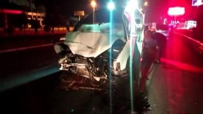 benzin -  Ters yönde seyreden 200 promil alkollü sürücü tıra çarptı