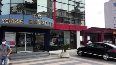 makam araci - TRABZON - Yomra Belediye Başkanı Bıyık'a silahlı saldırı girişimi (2)