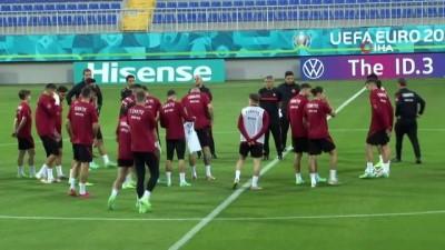 yildizli - A Milli Takım, Galler maçı hazırlıklarına başladı