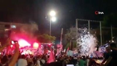 - İsrail'de binlerce kişi Netanyahu'nun gidişini kutladı