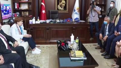 eziler - ADANA - İYİ Parti Genel Başkanı Meral Akşener, Adana'da konuştu