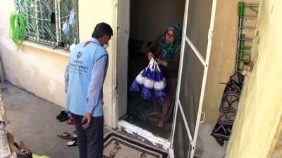 ADIYAMAN - İhtiyaç sahibi 150 kişiye kıyafet yardımı yapıldı