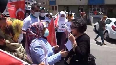 kirikli -  Almanya'da evlat nöbetini tek başına sürdürüyordu, Diyarbakır'a gelip HDP önündeki ailelerle buluştu