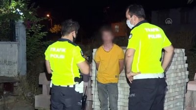 arac kullanmak - ANTALYA - Kovalamaca sonucu yakalanan ehliyetsiz sürücüye yaklaşık 10 bin lira ceza kesildi