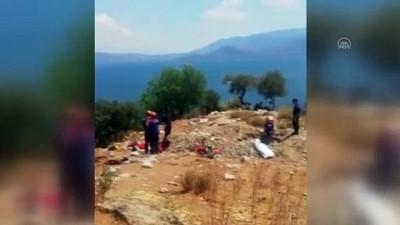 AYDIN - Kuyuda kaçak kazı yaparken zehirlendiği öne sürülen kişi öldü