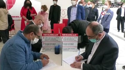 ermeni -  Bağcılar'da Kan bağışçılarına plaket takdim edildi
