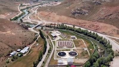 biyoloji - BAYBURT - Günlük 7 bin metreküp nehir suyunu temizleyen tesis çiftçinin yüzünü güldürdü