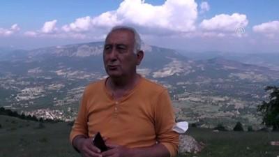 rekor - BİLECİK - Hasan Dağı, mesafe uçuşu yapmak isteyen yamaç paraşütçülerinden ilgi görüyor