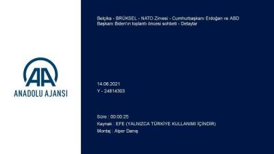 ingiltere - BRÜKSEL - NATO Zirvesi - Cumhurbaşkanı Erdoğan ve ABD Başkanı Biden'ın toplantı öncesi sohbeti - Detaylar