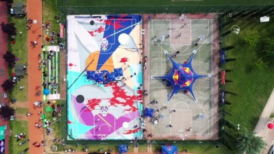 basketbol - BURSA - 'Red Bull Half Court 3x3' sokak basketbolu turnuvasında ilk durak Bursa oldu