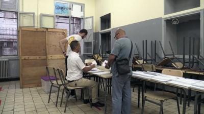 parlamento - CEZAYİR - Erken genel seçiminde oy sayımına başlandı