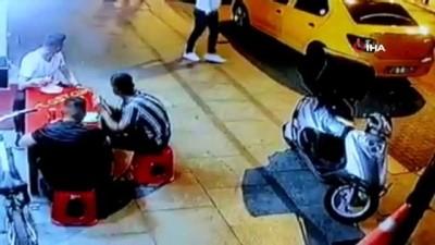 katil zanlisi -  Cinayetle sonlanan yan bakma kavgası kamerada