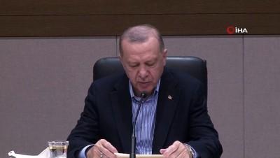 """teror saldirisi -  Cumhurbaşkanı Erdoğan: 'Hastaneye yapılan terör saldırısı PKK YPG'nin nasıl kalleş ve vahşi bir örgüt olduğunu göstermiştir"""" Videosu"""