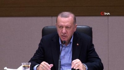 """teror saldirisi -  Cumhurbaşkanı Erdoğan: """"Hastaneye yapılan terör saldırısı PKK YPG'nin nasıl kalleş ve vahşi bir örgüt olduğunu göstermiştir"""" Videosu"""