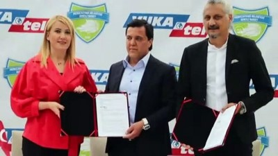DENİZLİ - Merkezefendi Belediyesi Denizli Basket'te sponsorluk anlaşması