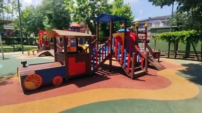 basketbol - DÜZCE - Atıl araziye ekilen mısırın geliri çocuklara oyun parkı ve spor alanı oluyor