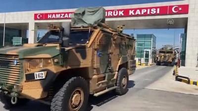 EDİRNE - Romanya'daki NATO tatbikatına katılan Mehmetçik Türkiye'ye dönmeye başladı