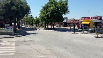 EDİRNE - Trakya'da sokağa çıkma kısıtlaması nedeniyle sessizlik hakim