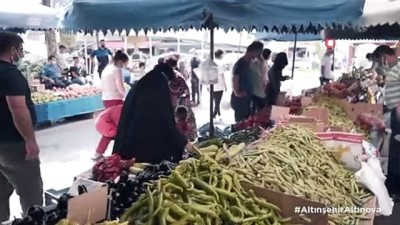 pazarci esnafi -  Engellilerin ve yaşlıların pazar torbalarını belediye taşıyor