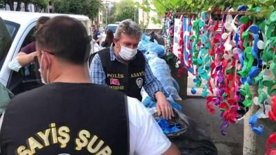 gozyasi - ESKİŞEHİR - Dede ile torununun yardım için topladığı kapakları çaldığı iddia edilen şüpheli yakalandı