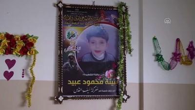 kiz kardes - GAZZE - İsrail bombaları konuşma ve yürüme zorluğu çeken beyin atrofisi hastası 7 yaşındaki Buseyne'yi hayattan kopardı