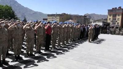 HAKKARİ - Jandarma Teşkilatının 182. kuruluş yıl dönümü kutlandı