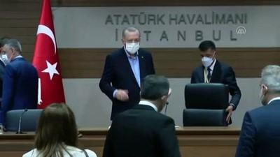 İSTANBUL - Cumhurbaşkanı Erdoğan: '24 Nisan, maalesef çok olumsuz bir süreç oldu. Bu yaklaşım bizleri ciddi manada üzmüştü'