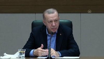 İSTANBUL - Cumhurbaşkanı Erdoğan: 'Temenni ederim ki bu görüşmelerimizi aynı hassasiyet içerisinde yaparak 24 Nisan'ı unutturacak adımları da atmış oluruz.'