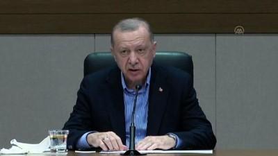 İSTANBUL - Cumhurbaşkanı Erdoğan: 'Türkiye-Azerbaycan kardeşliği, bölgemizin barış, refah ve istikrarının teminatıdır.'