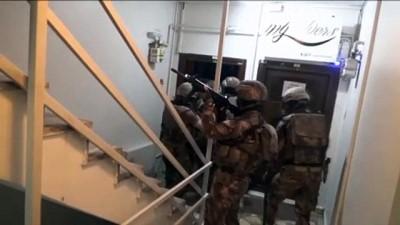 catisma - İSTANBUL - Terör örgütü DEAŞ'a yönelik operasyonda 14 kişi gözaltına alındı