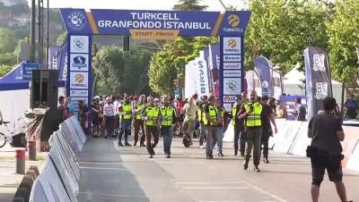 sosyal sorumluluk - İSTANBUL - Turkcell GranFondo İstanbul Yol Bisiklet Yarışı başladı