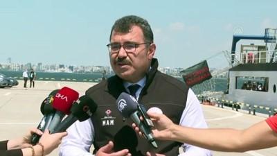 İZMİR - TÜBİTAK Başkanı Hasan Mandal, müsilajla ilgili çalışmalarda gelinen nokta hakkında bilgi verdi