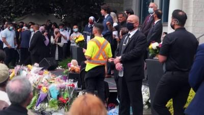 teror saldirisi - Kanada'nın London kentinde katledilen Müslüman aile için cenaze töreni düzenlendi Videosu