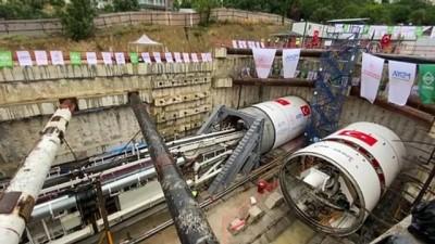 KOCAELİ - Gebze-Darıca Metrosunda tünel açma kazısı başladı