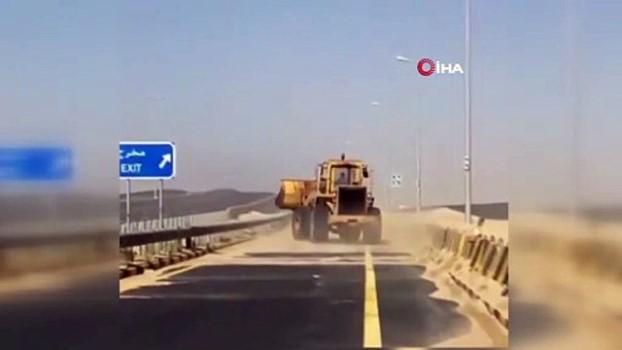deniz trafigi -  - Kuveyt'i kum fırtınası vurdu