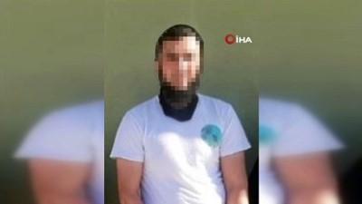 """MSB: """"Kırmızı bültenle aranan radikal terör örgütü üyesi Hatay'da yakalandı"""""""