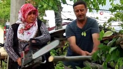 koy yollari -  O, tozlu topraklı köy yollarının ATV'li Seher ablası