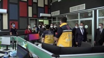 SİİRT - 112 Acil Çağrı Merkezi hizmete girdi