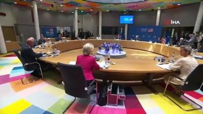 isvicre -  - AB-ABD arasında ticaret ve teknoloji alanında ortak konsey kurulacak - Brüksel'deki AB-ABD Zirvesi sona erdi