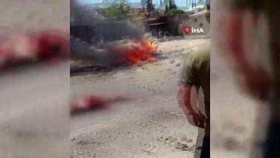 - Afrin'de patlama : 1 ölü, 4 yaralı